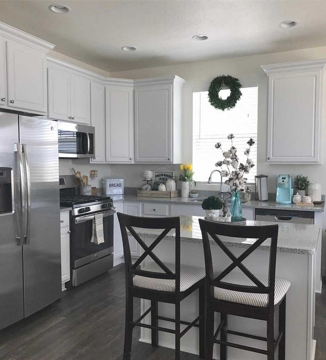 I Would Really Appreciate All Of This Renovation Kitchen Diy Home Decor Kitchen Kitchen Design Small Kitchen Remodel