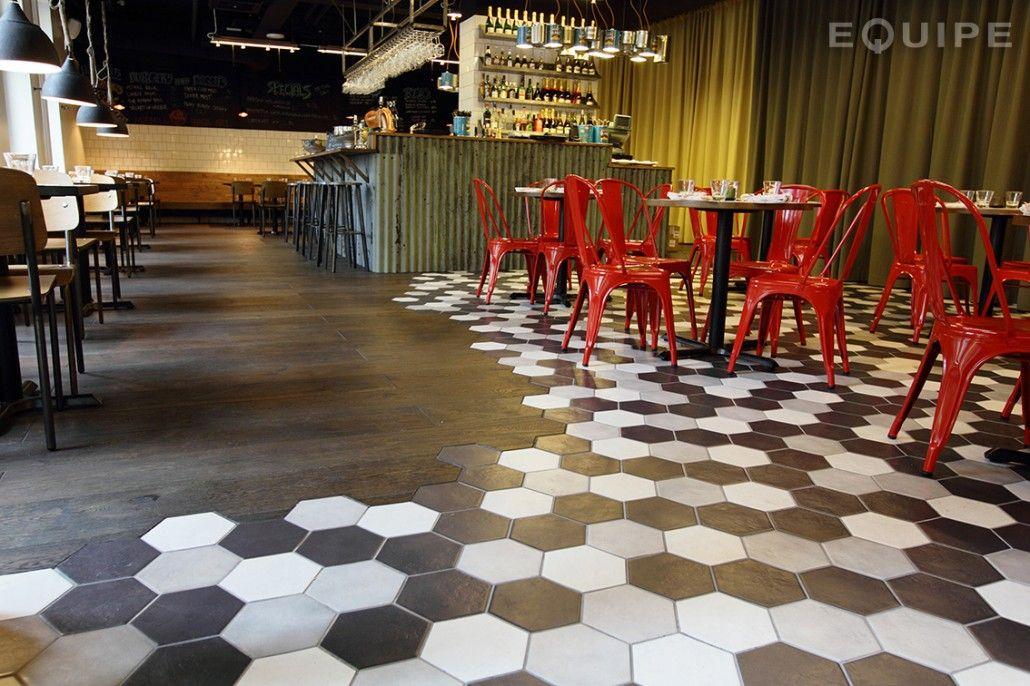 Midhill Restaurant Helsinki Hexagonal Equipe