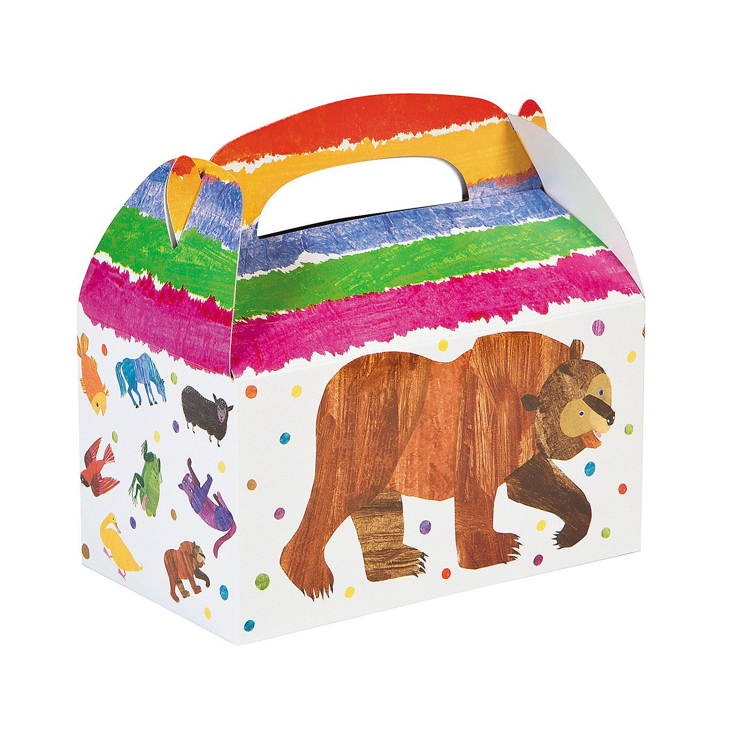 Eric Carle 39 S Brown Bear Brown Bear What Do You See Treat