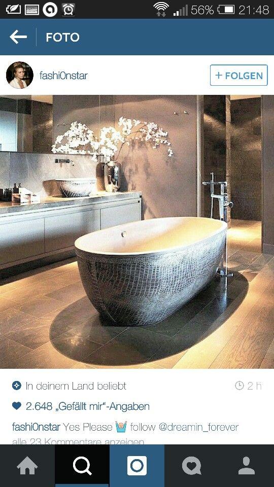 Freistehende Badewanne Einrichtungsstyles Pinterest