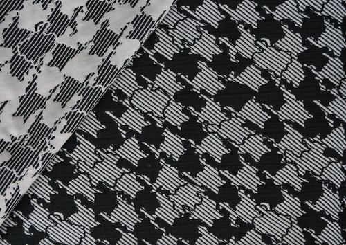 Fabrics From The Sewing Workshop A Unique Play On A Houndstooth
