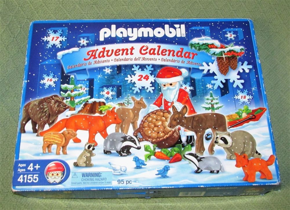Playmobil Advent Calendar CHRISTMAS in the FOREST 2007