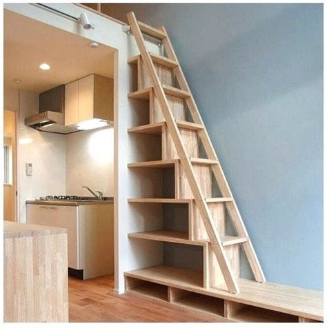 An Attic Ladder Is A Retractable Stairs That Pulls Down From The Ceiling To Provide Accessibility To Attic Space T Loft Staircase Attic Ladder Building Stairs