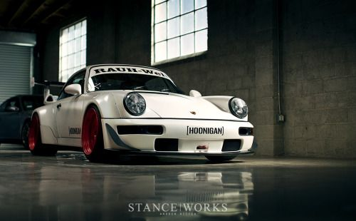 stanceworks:  Brian Scotto's Hoonigan RWB 911 at KW Suspension's Poster Photo Shoot