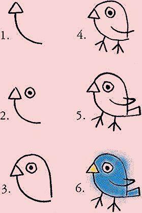 Auf folgende Seite erkennen Sie, wie einfach und lustig kann man Tiere malen mit…