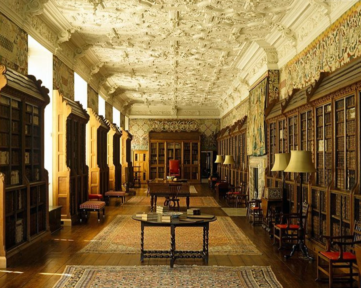 Library Blickling Hall Norfolk Famous Architecture English Interior Historical Architecture