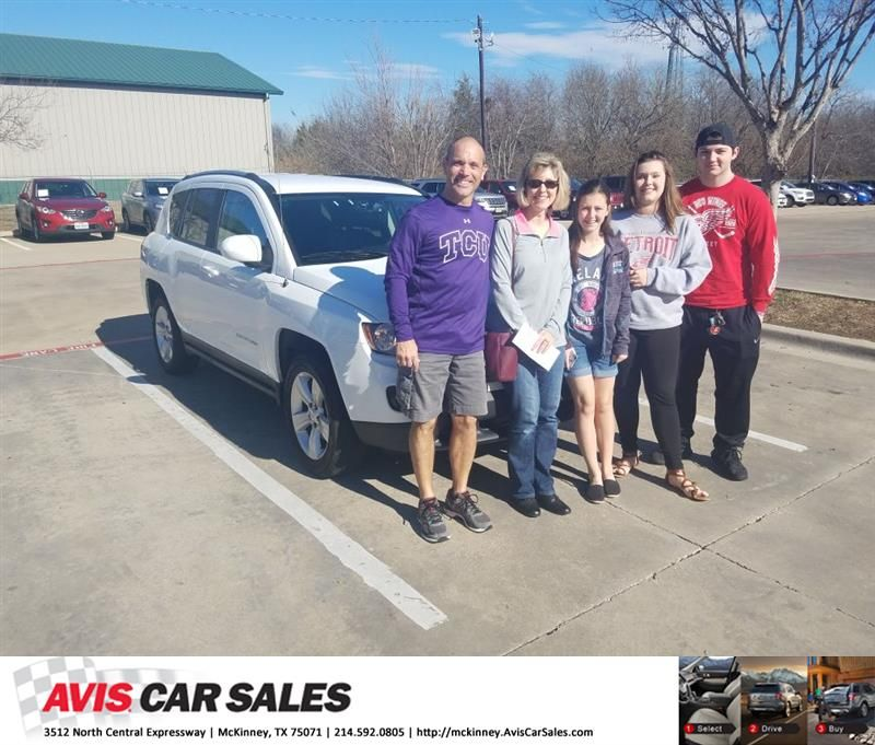 Congratulations Charles On Your Jeep Compass From Joe George At Avis Car Sales Mckinney Https Deliverymaxx Com Dealerreviews Cars For Sale Car Buying Car