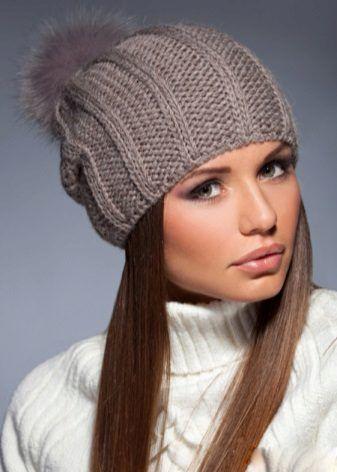 Женские шапки | Вязаные шапки, Шаблоны вязаных шляп ...