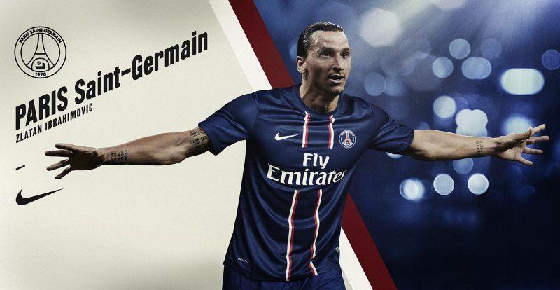 خلفيات زلاتان إبراهيموفيتش بقميص باريس سان جيرمان Zlatan Ibrahimovic Paris Saint Germain Psg