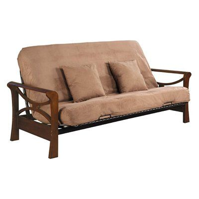 Serta Naples Futon Frame And Bed Package