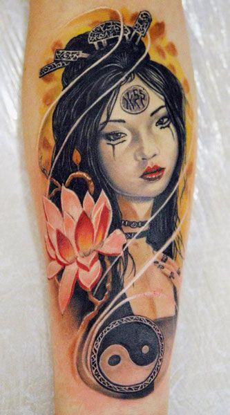 geisha art tattoo tattoomodels tattoo geisha tattoos pinterest geisha art tattoo and. Black Bedroom Furniture Sets. Home Design Ideas