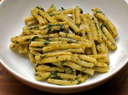 Casarecce with Pistachio Pesto — 'Jono & Jules do food & wine'