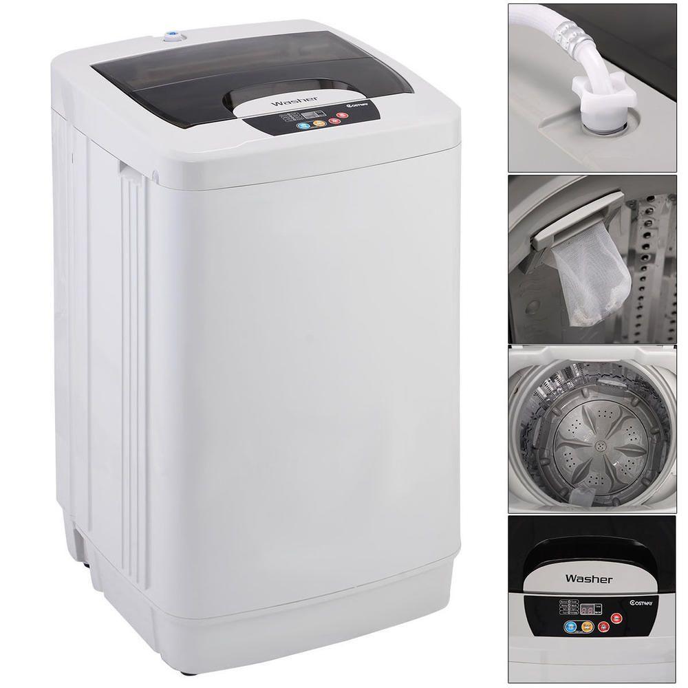 Goplus Ep22019 Small Portable Washing Machine Fully Automatic 12
