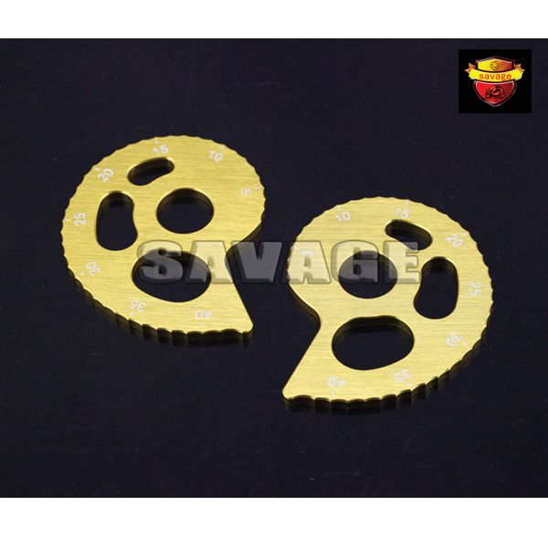 Motorcycle Accessories CNC Aluminum Chain Adjuster with