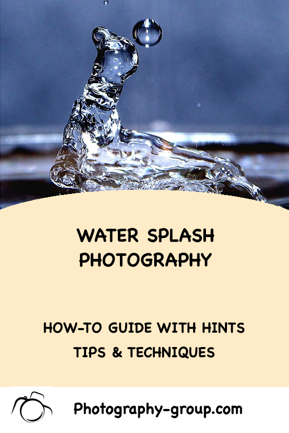 Have you ever wanted to photograph Water Splash Art? This article by professional photographer James Goble tells you how; step by step. #photography #photographyart #watersplash #photographyarticles #learnphotography #fineartphotography