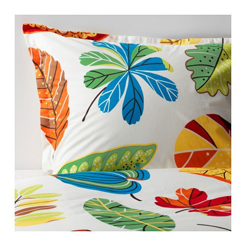 JONILL Bettwäscheset, 2-teilig IKEA Kühle Bettwäsche aus Perkal, einem dichtgewebten, feinfädigen Baumwollgarn.