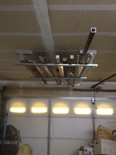 Genial Unistrut Ceiling Storage Rack Ceiling Storage Rack, Garage, Car Garage,  Garages, Carriage