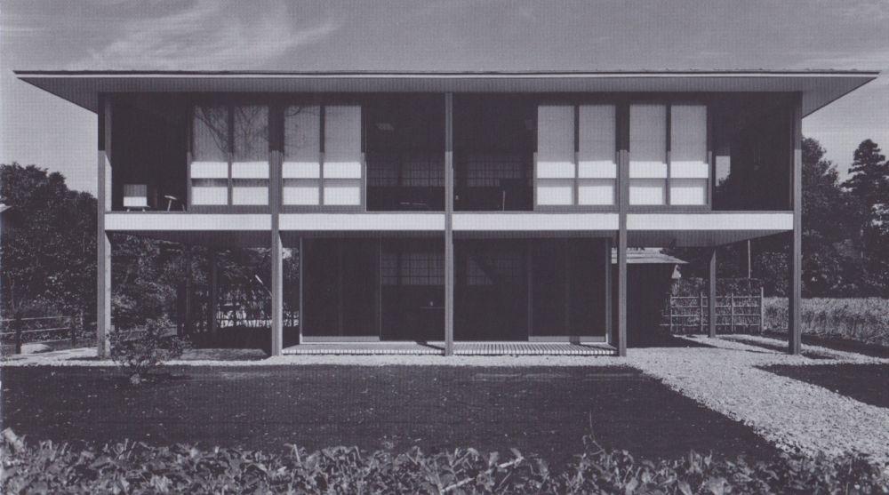 Shinohara Kazuo, Maison à Kugayama, Tokyo, 1954