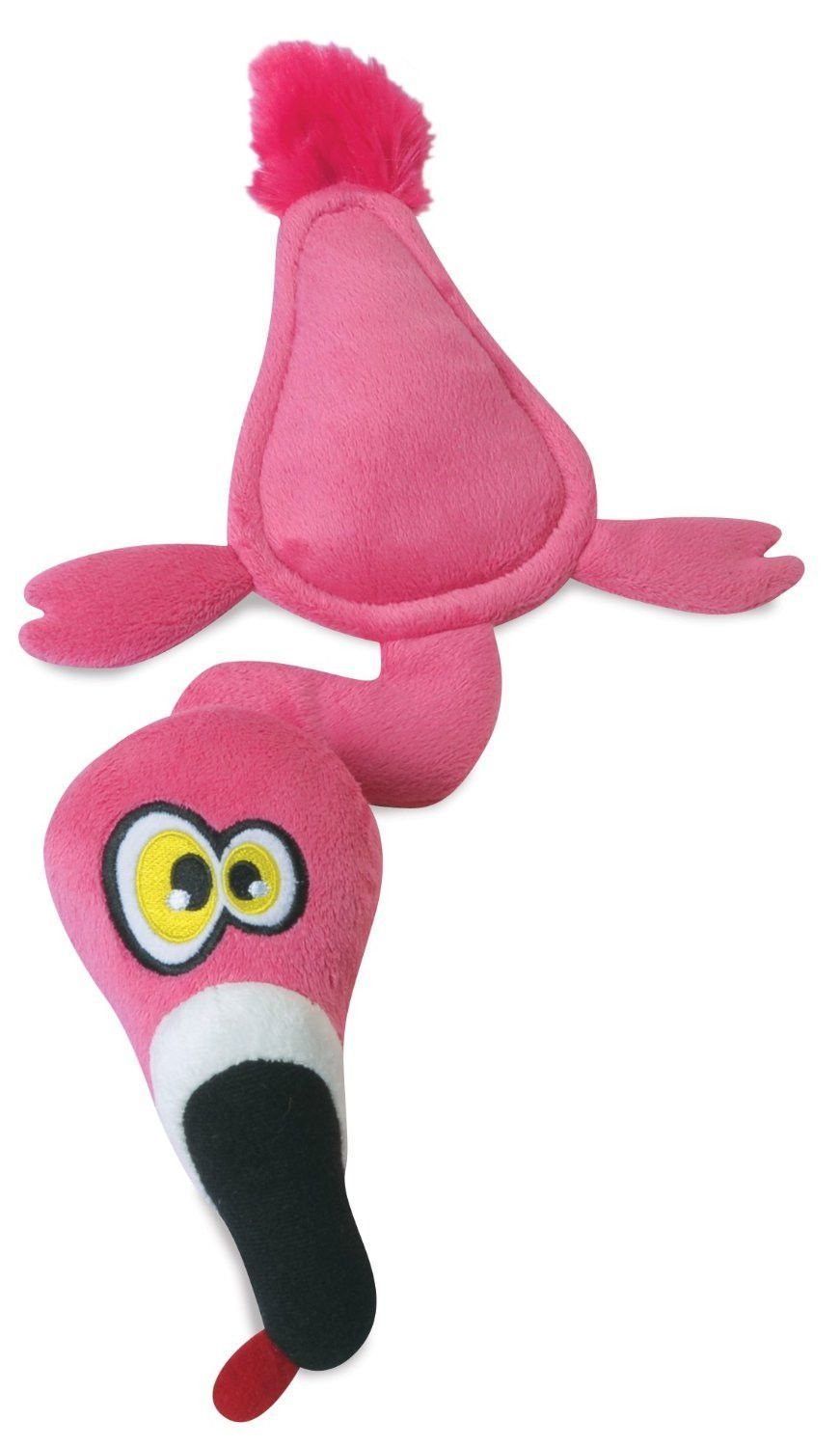 Hear Doggy Flamingo Ultrasonic Silent Squeak Dog Toy Dog Toys