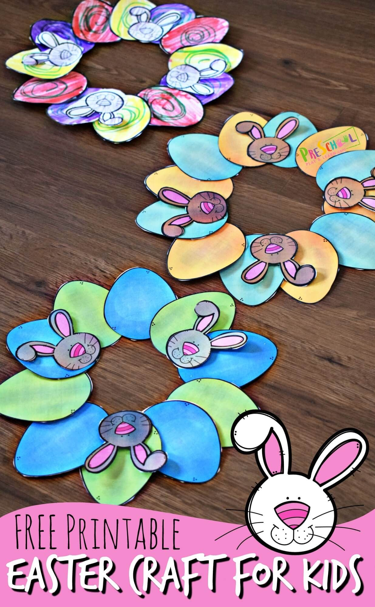 FREE Printable Easter Craft for Kids | Easter crafts ...