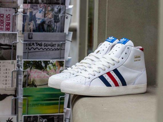 adidas Originals Basket Profi - Running White - St Dark Slate ...