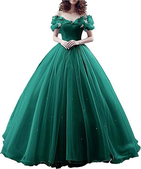 yinyyinhs Women's Princess Cinderella's Costume Ba