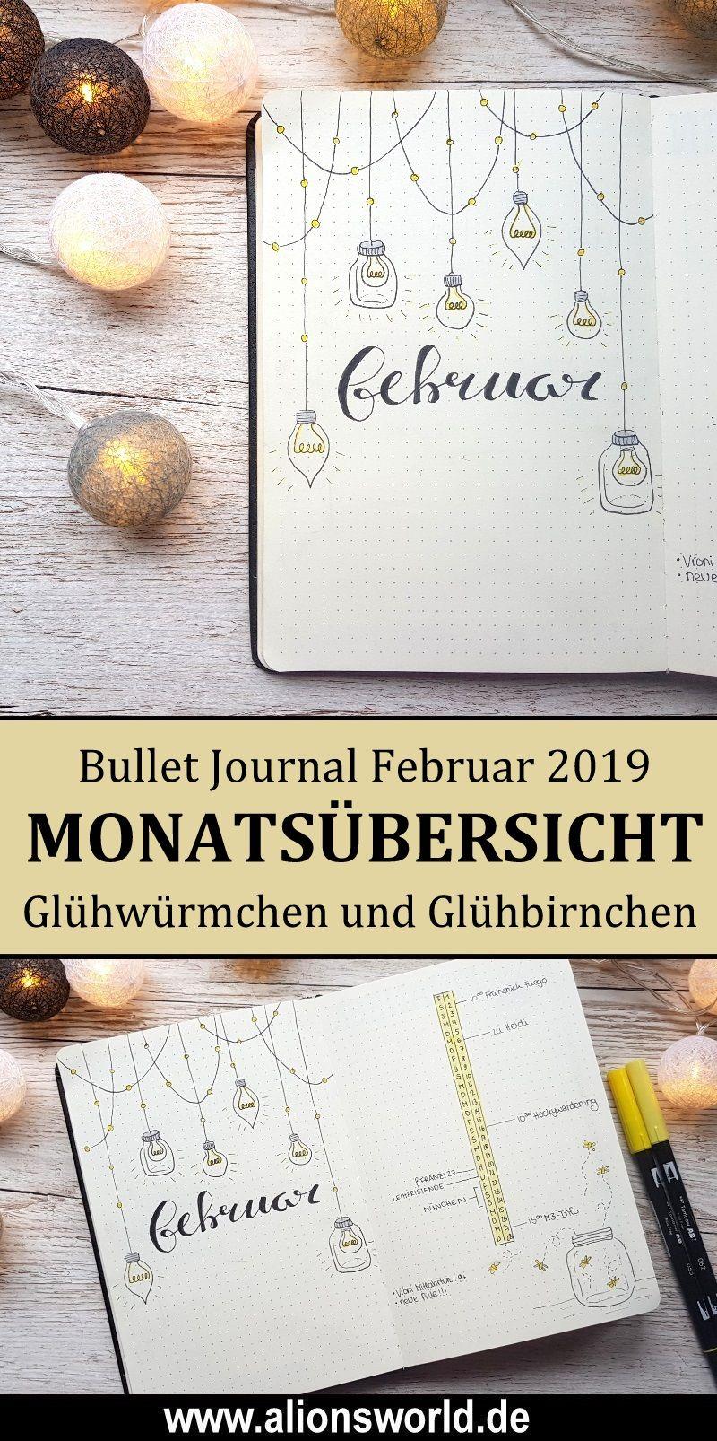 Bullet Journal Februar 2019