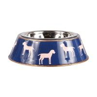 Westminister Navy  Dog Bowl
