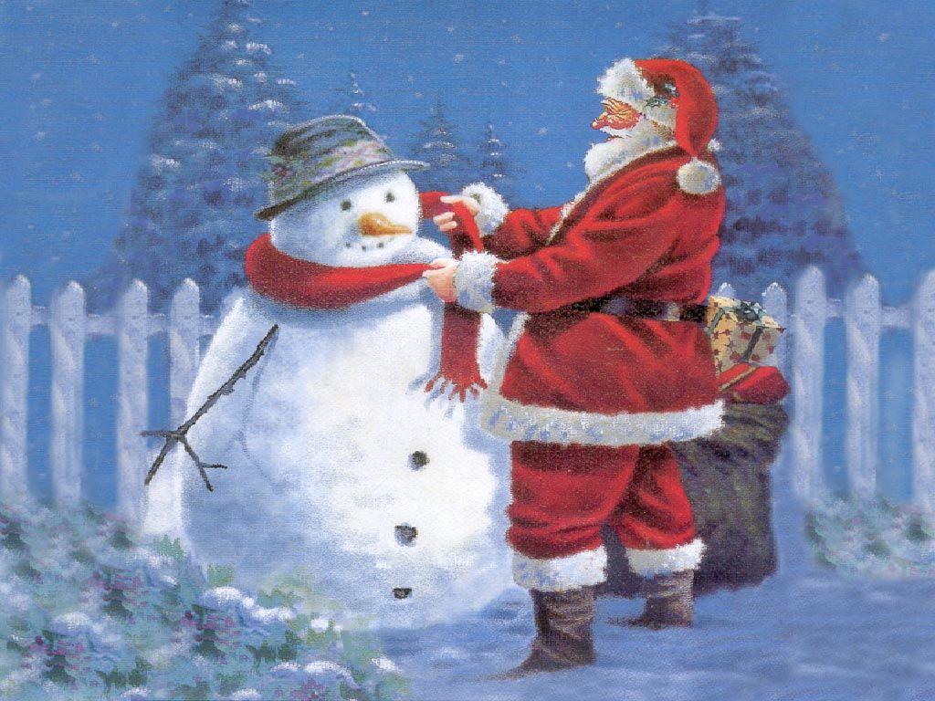 Christmas Snowman Snowman Wallpapers Desktop Wallpapers Snowman Wallpaper Santa Claus Wallpaper Snowman
