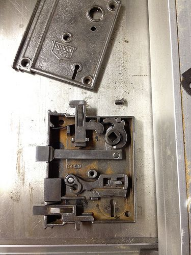 The Anatomy And Restoration Of A Rim Lock Door Locks Pinterest