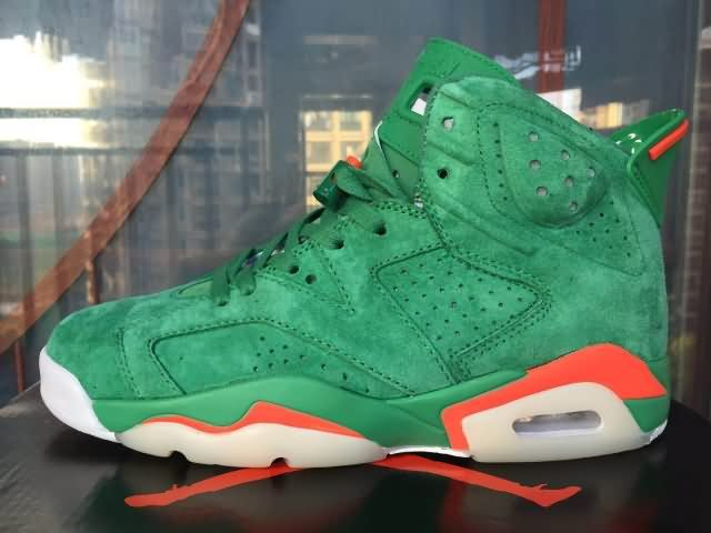 Cheap AIR JORDAN 6 Retro AA AJ6 2018 Green Unisex shoes|Wholesale Jordan 6  Men