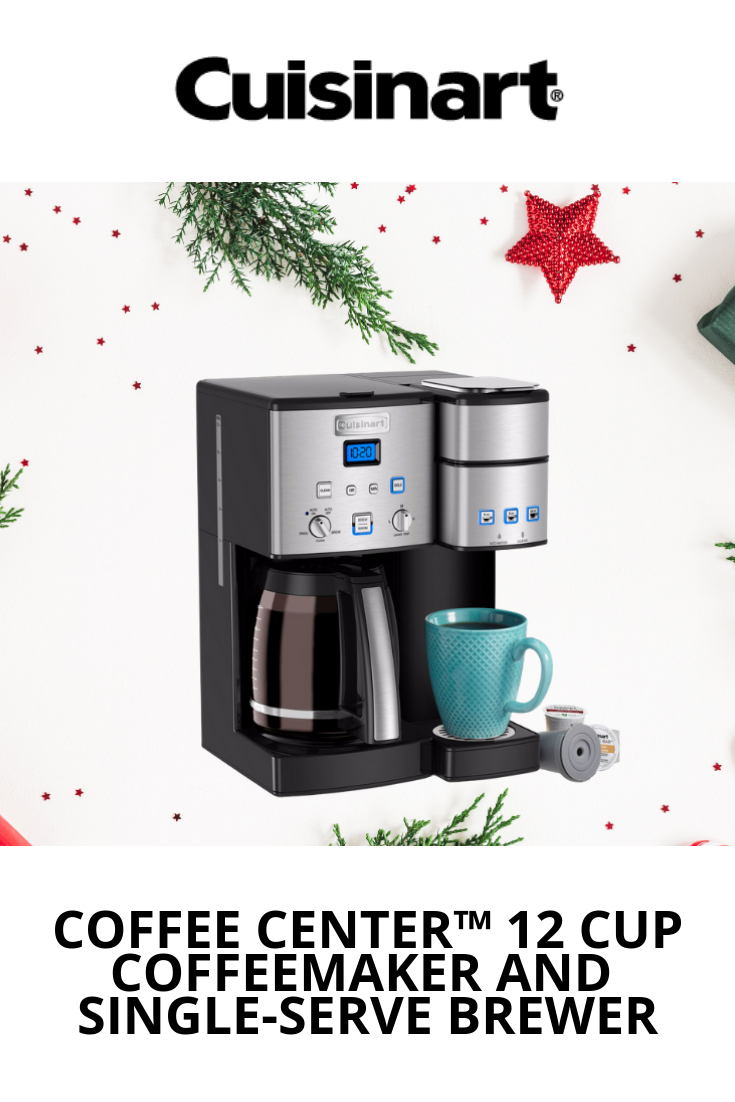 Coffee Center 12 Cup Coffeemaker And Single Serve Brewer With Images Coffee Maker Single Serve Coffee