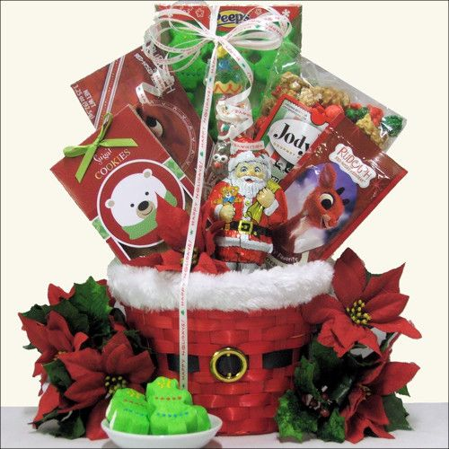 Christmas Gifts For 18 Year Old Boy: Santa Children's Holiday Christmas Gift Basket