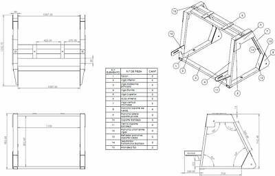 Concrete Block Brick Maker Making Machine PLANS BUILD YOUR