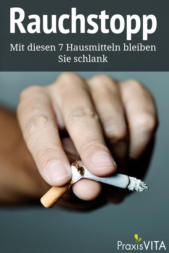 Rauchen aufhoren zunehmen muss nicht sein