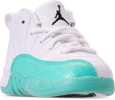 6b68508d557087 Nike Kids  Toddler Air Jordan Retro 12 Basketball Shoes