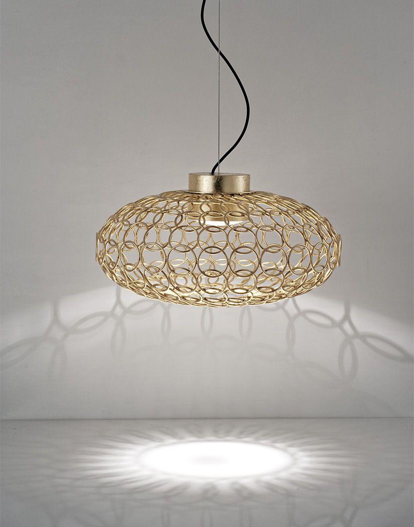 Terzani Licht Hanglamp Goud