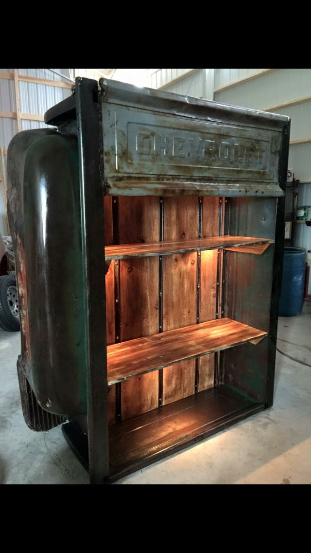Bookshelf Garage Furniture Car Part Furniture Automotive Decor