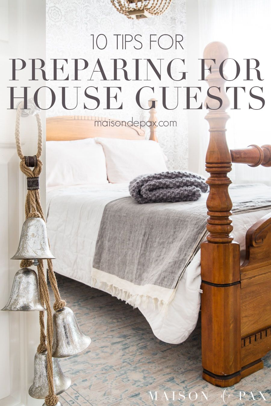 10 Steps To Prepare For House Guests Cute Dorm Rooms Guest Room
