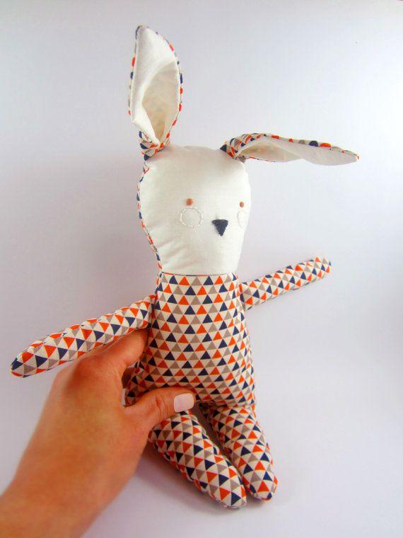 Conejito de peluche Muñeco de peluche de conejito por LeLoupShop