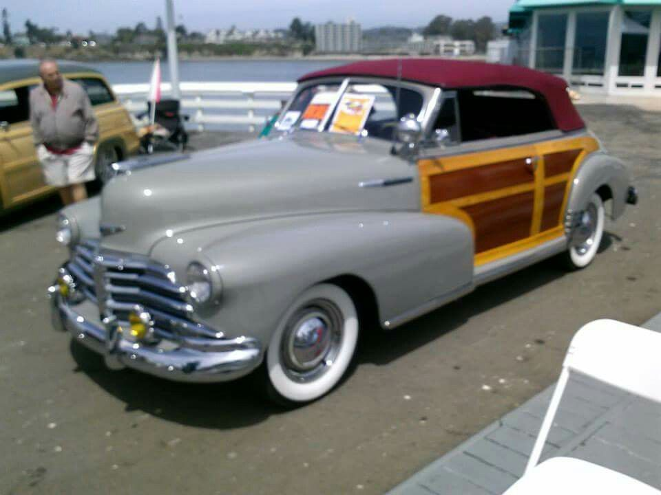 Chevrolet 1948 Country Club Convertible Woody Maintenance ...
