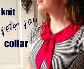 wunderbar: Easy Peter Pan Collar for Tees