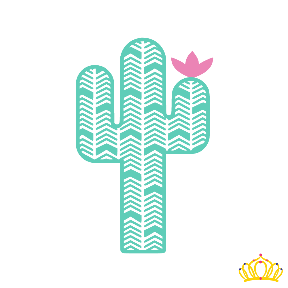 This decal features an Aztec patterned cactus in the size and colors of your choice. For sizing reference, a 3-inch-tall decal will be approximately 2.5 inches in width. Additional Details: * Made with professional quality permanent outdoor vinyl that is water and weather resis