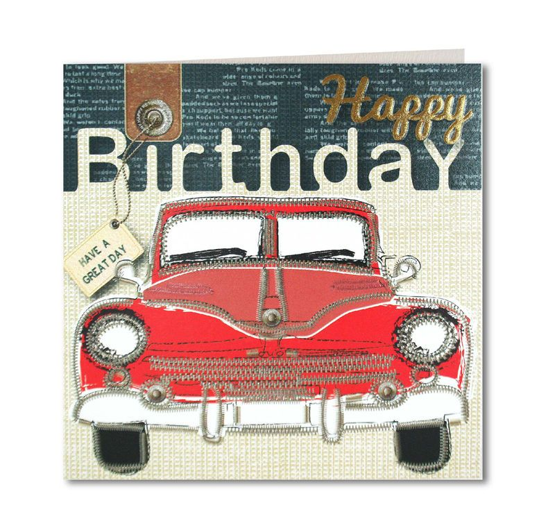 Classic Car Birthday Card product images of Cars