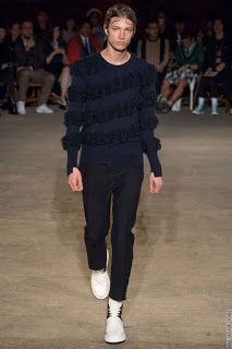Alexander McQueen Spring/Summer 2016 - London Collections: MEN | Male Fashion Trends