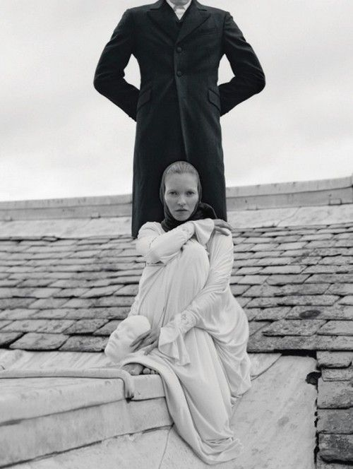 waltz darling, kate moss and marlon richards by tim walker for love fall winter 2012/13
