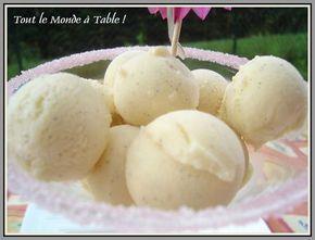 Glace à la vanille sans sorbetière – Tout le monde à table !