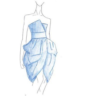 prom dresses to draw on pinterest chiffon bridesmaid