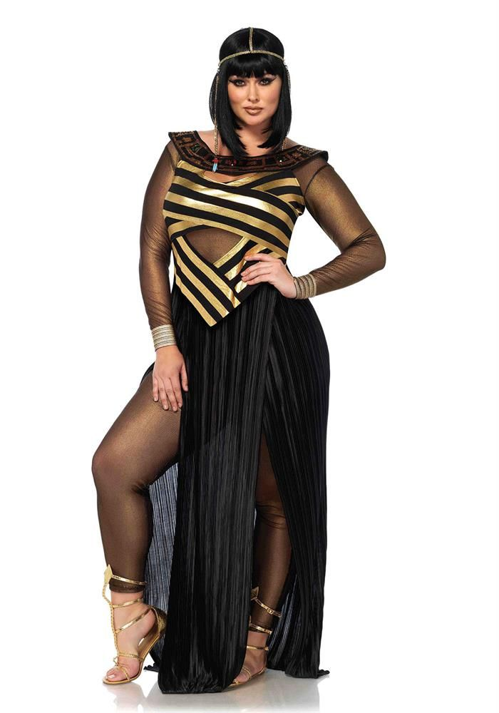 Plus Size Clothing Plus Size Nile Queen Set wwwDebshops - halloween costume ideas plus size