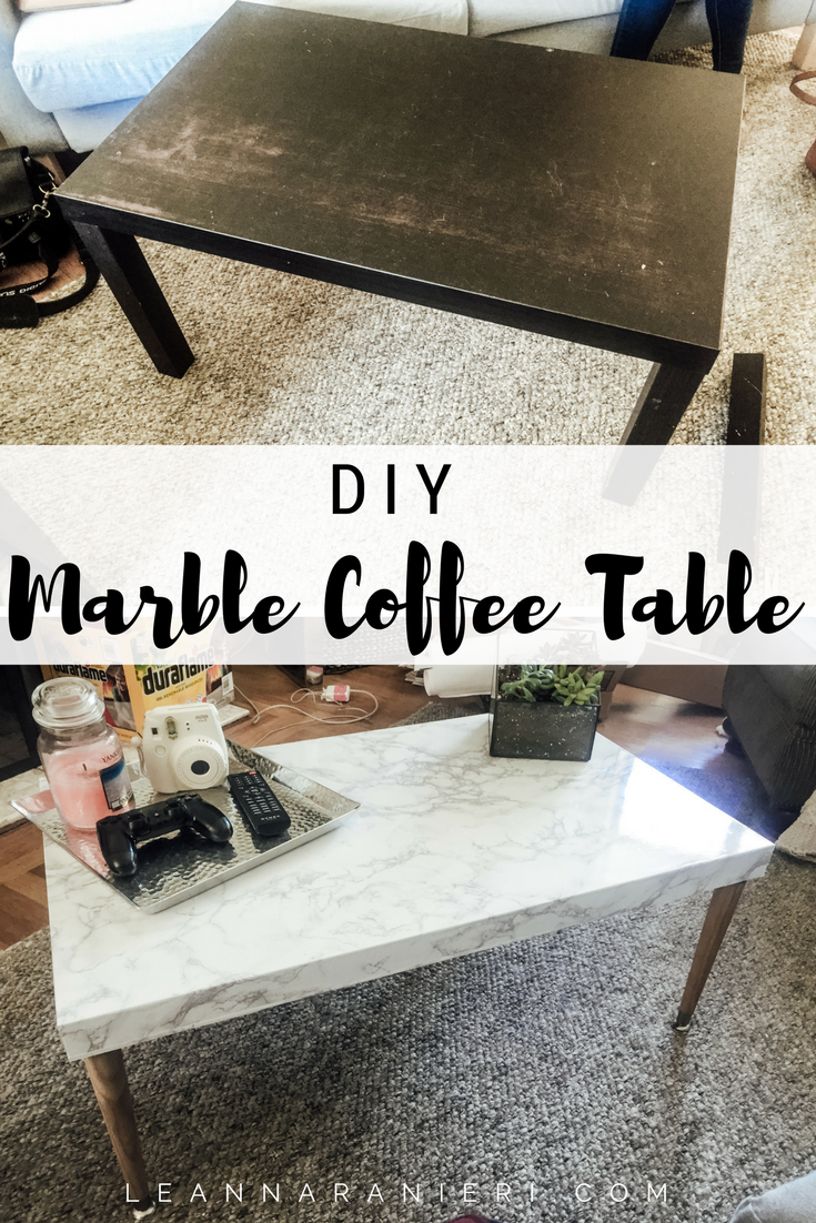 Enjoyable Diy Marble Coffee Table So Cheap And Easy I Really Wanted Short Links Chair Design For Home Short Linksinfo